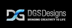 DGS Designs logo light
